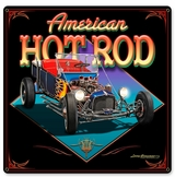 AMERICAN HOT ROD Metal Sign
