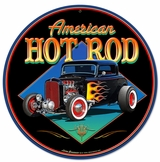 American Hot Rot '32 Metal Sign