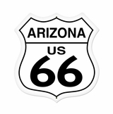 Arizona Route 66 Metal Sign