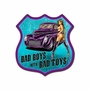 Bad Boys Metal Sign