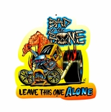 Bad To The Bone Metal Sign