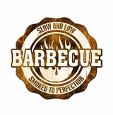 Bbq Slow And Low Smoked To Perfection Metal Sign