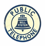 Bell Telephone Metal Sign