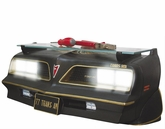 Black 1977 Pontiac Trans Am SE Wall Shelf with working Lights