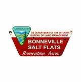 Bonneville Salt Flats Metal Sign