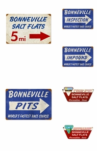 Items in Bonneville Signs