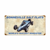 Bonneville Worlds Fastest Roadster Metal Sign