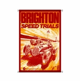 Brighton Speed Trials Canvas Sign