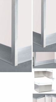 Items in Brushed Aluminum Molding and Trim Work