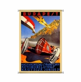 Budapest Grand Prix Canvas Sign