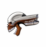 Buick Skull Class Of '57 Metal Sign
