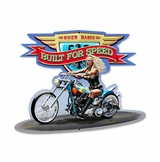 Built For Speed Metal Sign