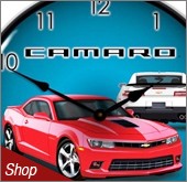 Camaro Clocks