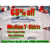 Medium Car Guy Garage T-Shirt