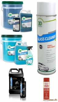 Items in Car Windshield Cleaner