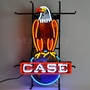 Case Eagle International Harvester Neon Sign