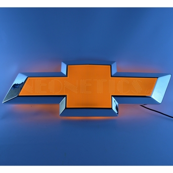 Chevrolet Bowtie Shaped Backlit Sign