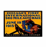 Chicago 500 Metal Sign