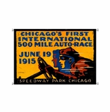 Chicago 500 Canvas Sign
