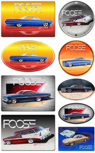 Items in Chip Foose Signs