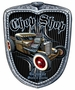 Chop Shop Grill Metal Sign