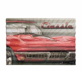 Classic Car Metal Sign