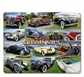 CLASSIC CAR COLLAGE Sign