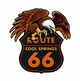 Cool Springs Metal Sign