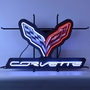 Corvette C7 Neon Sign With Backing