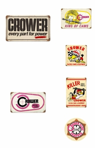Items in Crower Cams Signs
