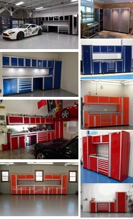 Items in Custom Aluminum Cabinets