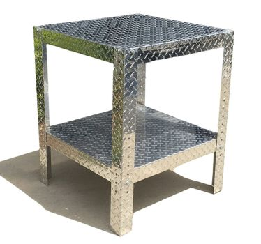 Diamond Plate Table