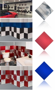 Items in Diamond Plate Wall Tiles