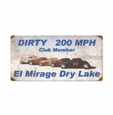 Dirty 200Mph Metal Sign
