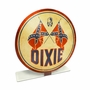 Dixie Gas Topper Metal Sign