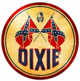 Dixie Gasoline Metal Sign