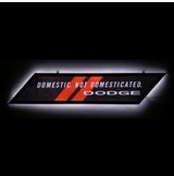 Dodge Slim Led Sign