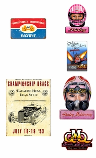 Items in Drag Racing Signs