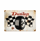 Dunlop Flags Metal Sign