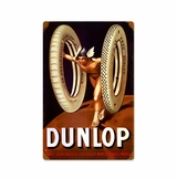Dunlop God Metal Sign