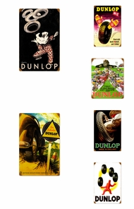 Items in Dunlop Tire Signs