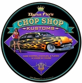 Dyna Flo's Kustom Metal Sign