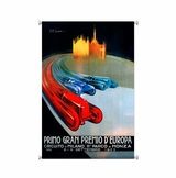 Europe Grand Prix Canvas Sign