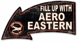 Fill Up With Aero Eastern Arrow Metal Sign