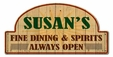 Fine Dining And Spirits Personalized Metal Sign