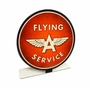 Flying A Service Topper Metal Sign