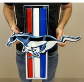 Ford Mustang Tri-Bar Sign