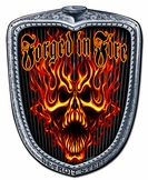 Forged Grill Metal Sign