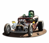 Frankie's Rat Rod Metal Sign