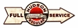 Full Service Hudson Regular Metal Sign
